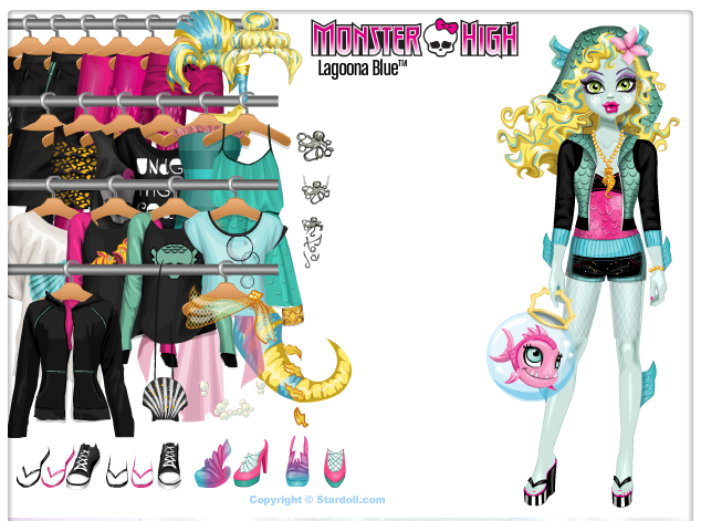 Vestir os Personagens de Monster High