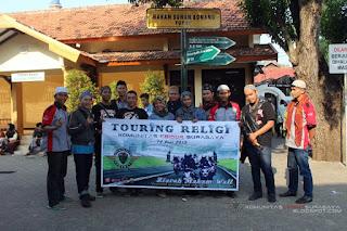 touring religi bikers komunitas cb150r surabaya