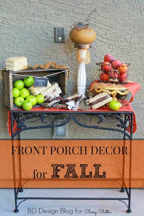 Front Porch Decor For Fall Bd Design Blog Classy Clutter