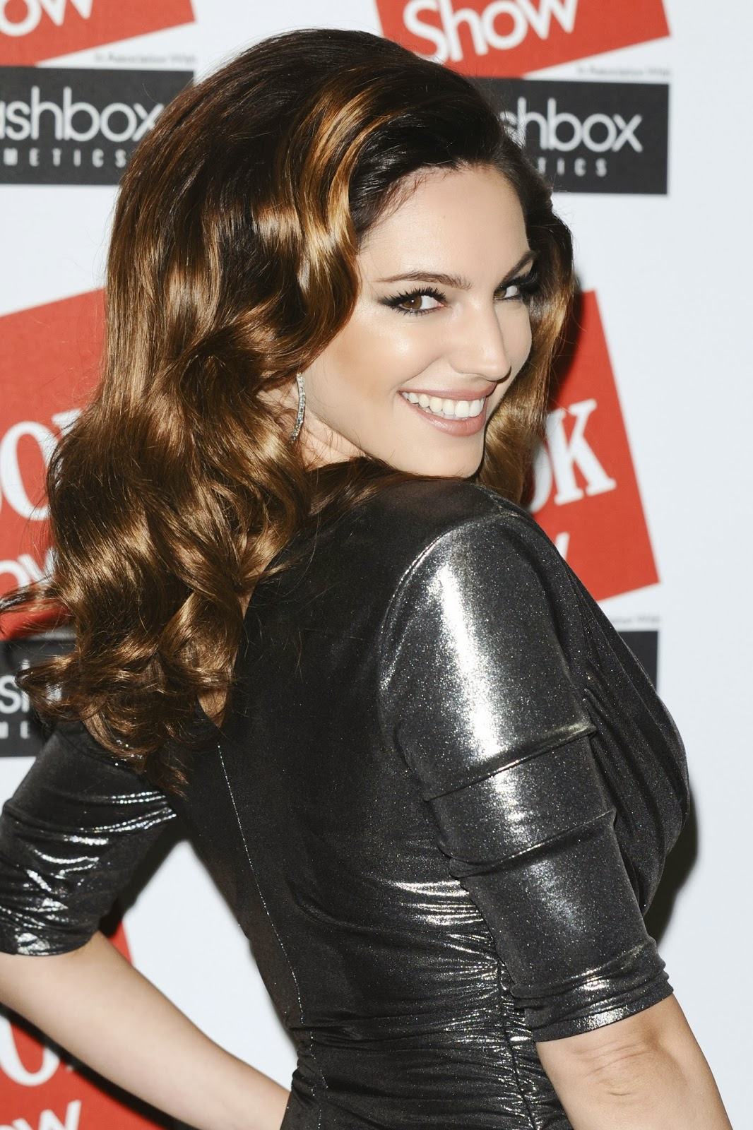 Kelly Brook at The Look Fashion Show