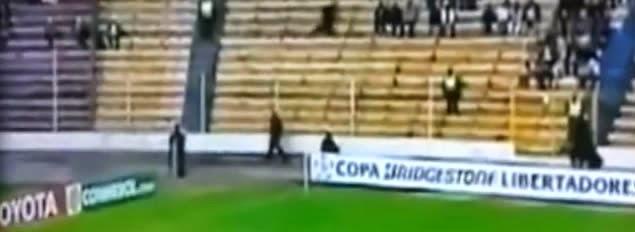 Misterioso fantasma aparece en juego de la Libertadores