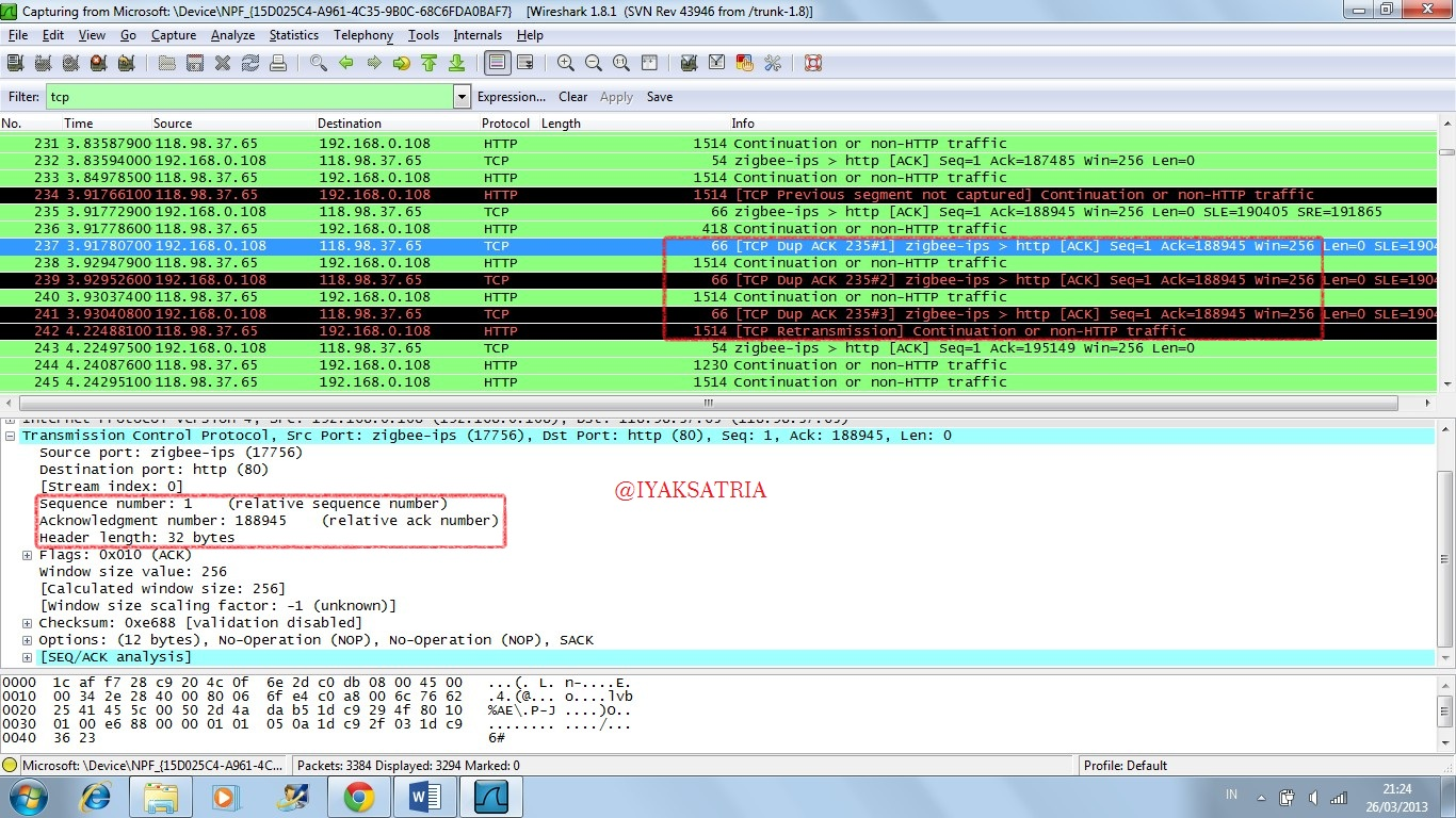 Wireshark untuk monitoring transport layer protocol tcp dan udp do what you love and love what - Wireshark filter destination port ...