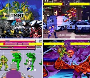 Tartarugas Ninjas vs X Men download baixar torrent
