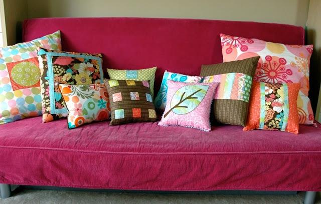 Emplea distintas telas, colores y texturas