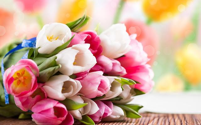Ramo de Rosas de Colores - Imagenes de Flores de Colores