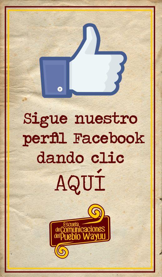 Sigue nuestro perfil facebook
