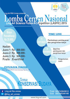Lomba Cerpen Nasional 2015