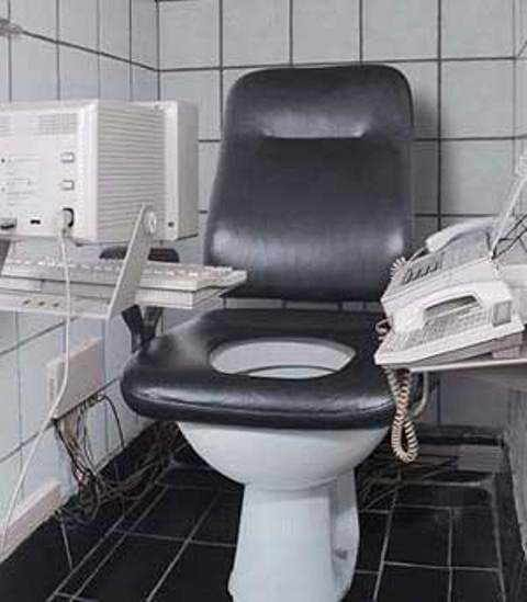 Okay So The Electronics Are A Little Dated But The Cushions On This Toilet Would Make For Hours Of Reading Comfort