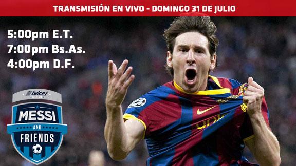 Messi y sus Amigos