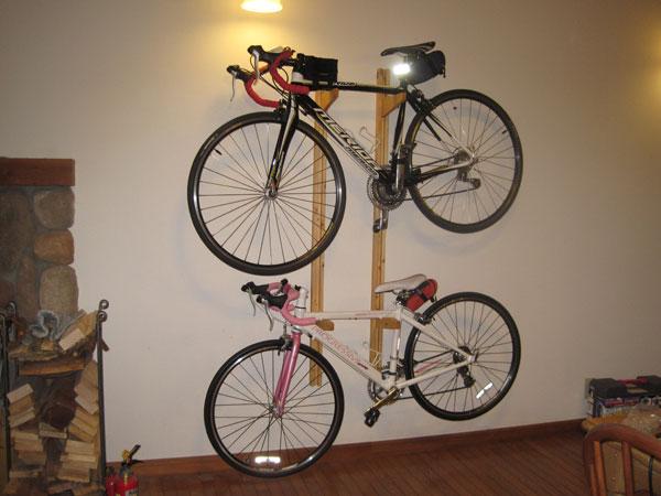 ... で遊ぼ!: 自転車ラックを自作