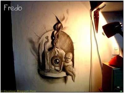 Lukisan Pensil 3D 6