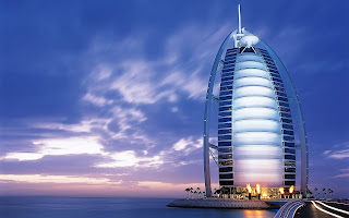 Dubai United Arab Emirates Burj Al Arab Hotel Wallpapers