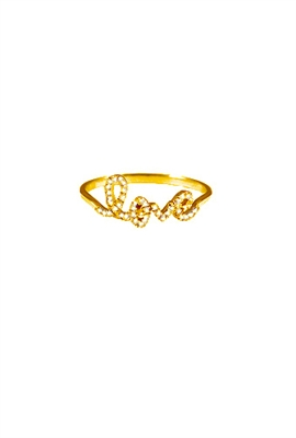 Sugar Bean Love Ring