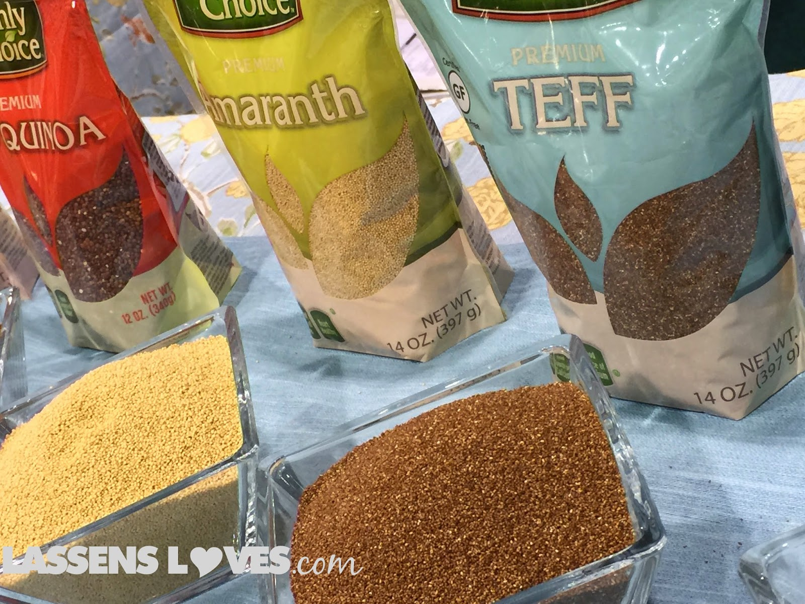 Expo+West+2015, Natural+Foods+Show, New+Natural+Products, quinoa+grains, amaranth+grain, teff+grain