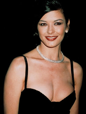 Catherine Zeta Jones Diamond Statement Necklace