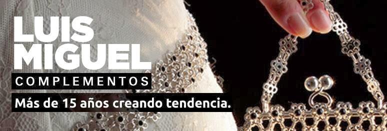 Luis Miguel Complementos en tu Boda Peinetas, Tiaras, Pendientes, Brazaletes, Bolsos