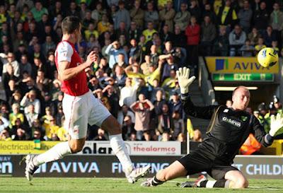 Norwich City 1 - 2 Arsenal (1)