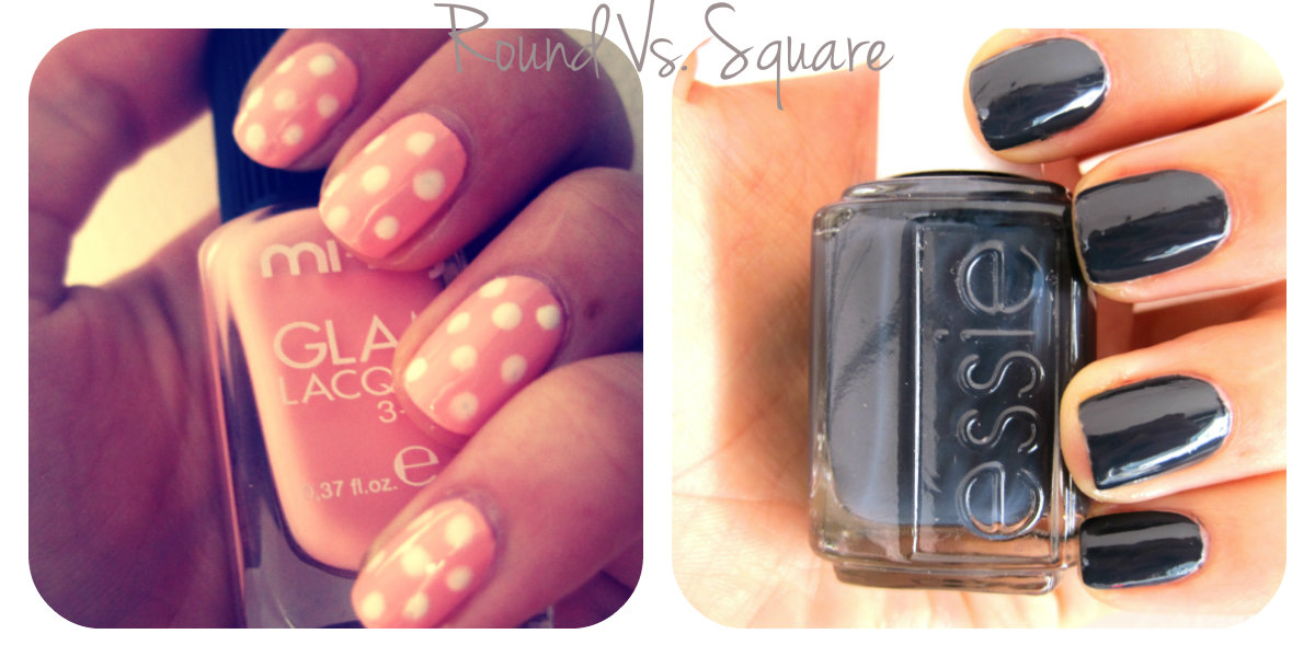 The Treasure Chest: Nail Shapes : Round Vs Square