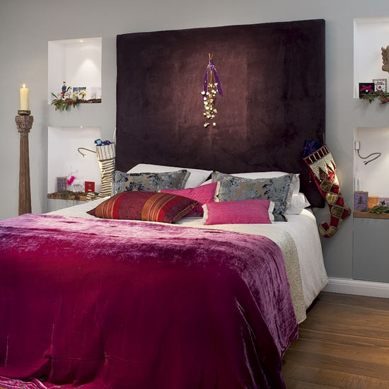 New home interior design step inside a modern home dressed for christmas Step up master bedroom