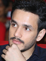 Akhil Akkineni Handsome stills at Manam Event-cover-photo