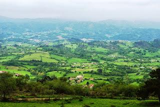 Pico Fario, vista de Sariego