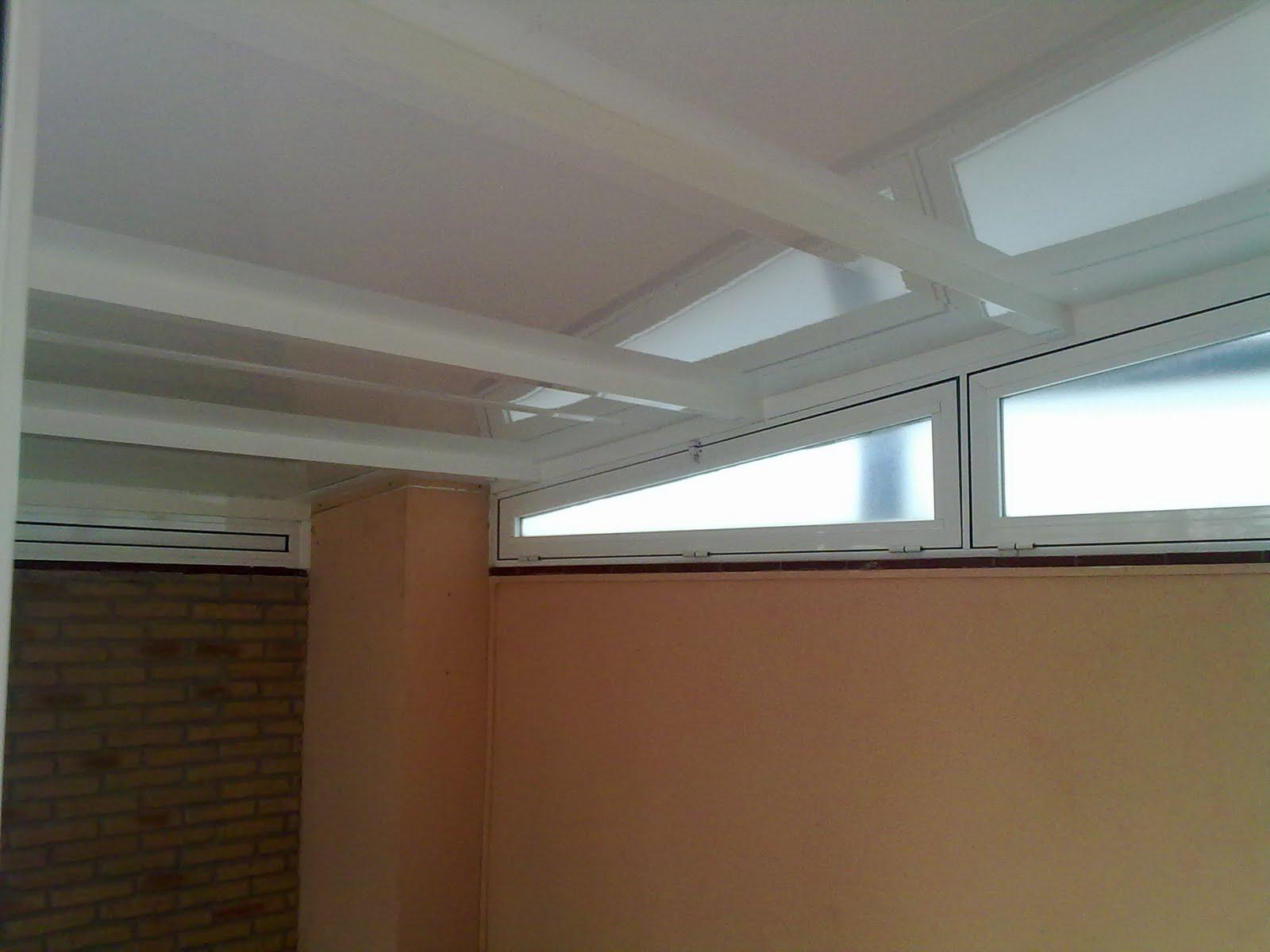 Puertas y venatanas de aluminio en girona cierre media for Cierres de aluminio para terrazas
