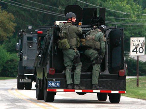 T.O.T. Private consulting services: Pennsylvania police surround ...