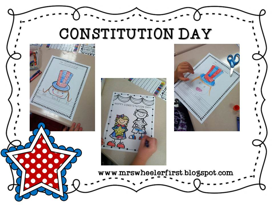 Constitution Day Coloring Pages For Kindergarten : Mrs wheeler s first grade tidbits constitution day