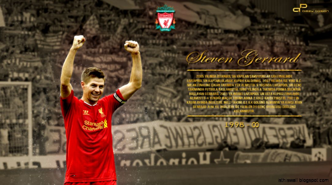 2015 Steven Gerrard Wallpapers  The Art Mad Wallpapers