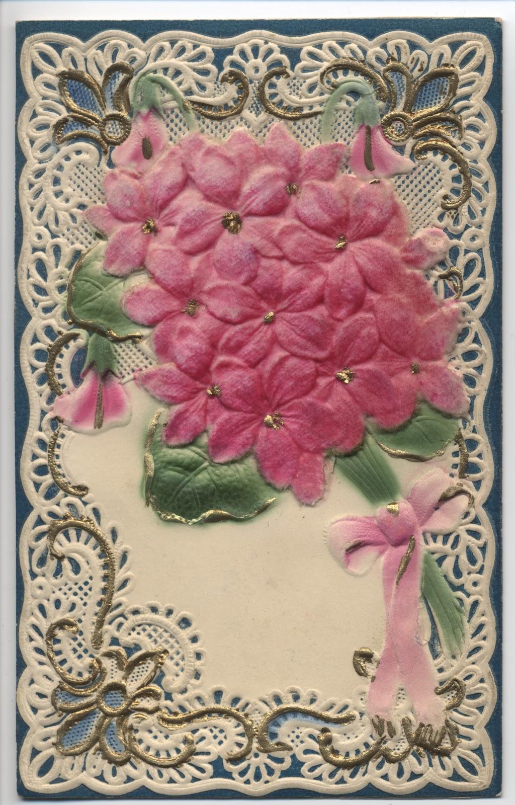 Postcards etc Flowers for Mom