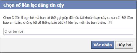 lay lai nick Facebook bi hack