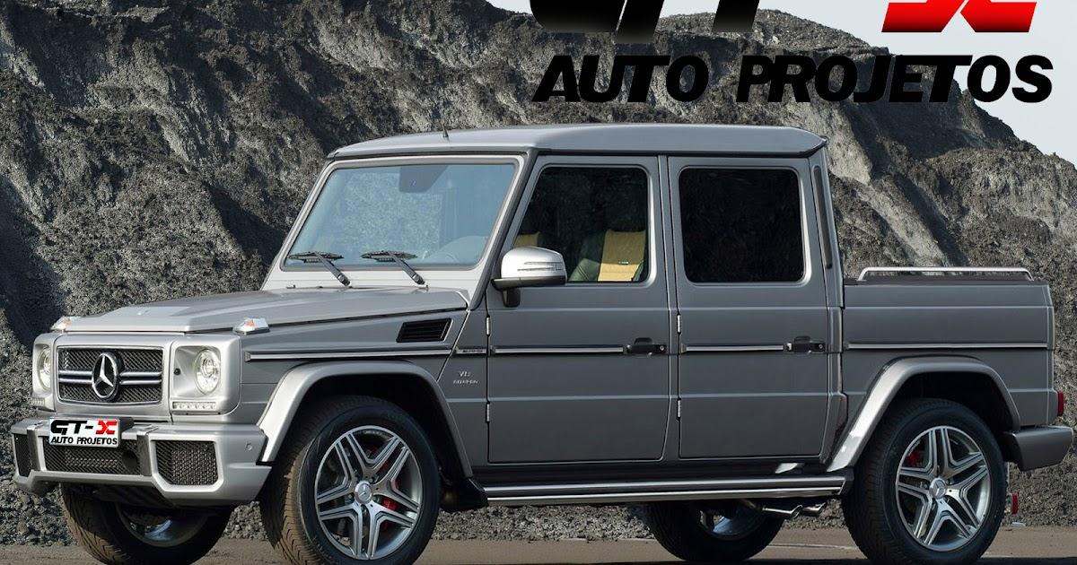Auto projetos mercedes benz classe g picape for Mercedes benz columbia mo