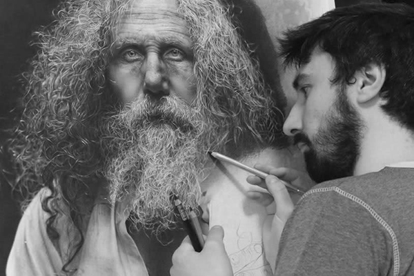 Desenho Ultra-Realista - Emanuele Dascanio