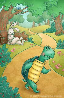 La liebre y la tortuga fabula para niños con moraleja de Esopo