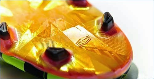 The new Adidas F50 adizero Crazylight