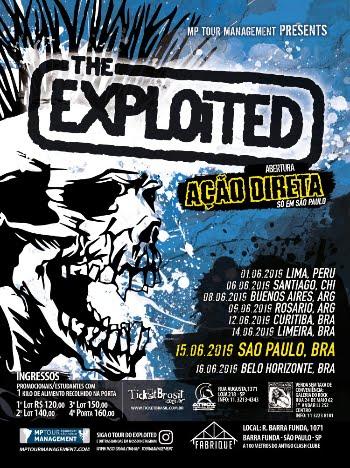 The Exploited no Brasil 2019