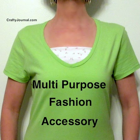 Multi-Purpose Fashion Accessory Crafty Journal