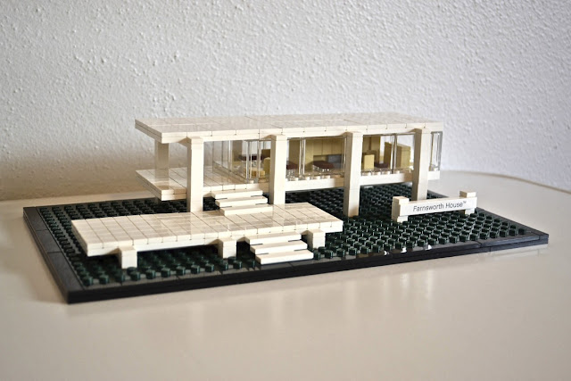 farnsworth house Lego architecture