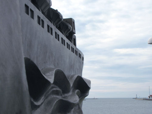 sculpture of carferry