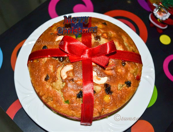 Easy Christmas palm cake recipe