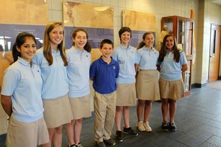 Nine Montgomery Catholic Students Receive Duke Tip State Recogonition 1