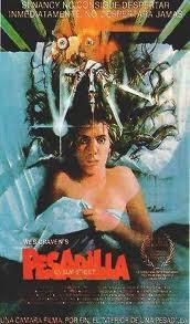 Cartel de la película Pesadilla en Elm Street de 1984