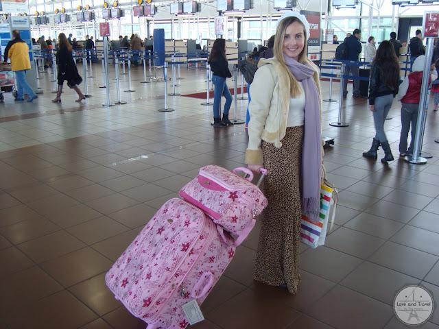 look aeroporto para viajar mala G e mala de mão