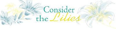Consider the Lilies..