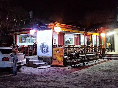 Lon Hu Restaurante: Fachada