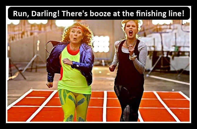 ab+fab what time is o'clock? ab fab at the olympic games?,Ab Fab Birthday Meme
