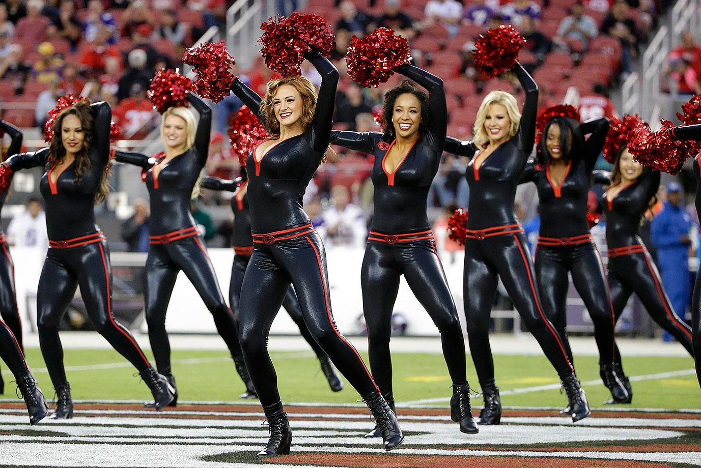 Cheer Heaven Did You See The 49ers Cheerleaders Uniforms