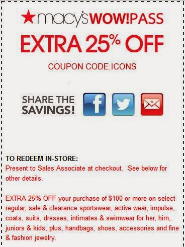 Macys Printable Coupons March 2015