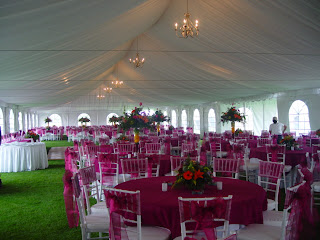 Modern wedding tent decoration & comellee: Wedding Tent Decorations