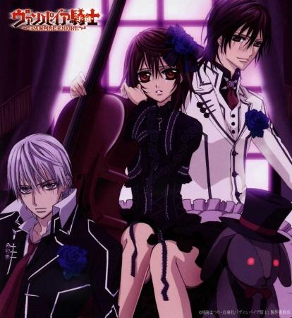 Denshiraku's (Mostly) Anime Blog: Vampire Knight Review